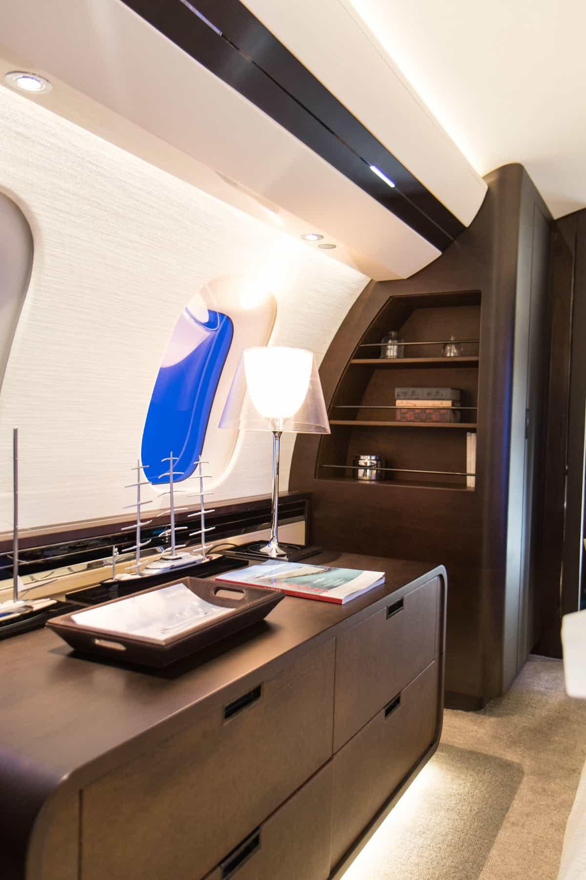 Bombardier Global 7500 Mock Up Tour 9