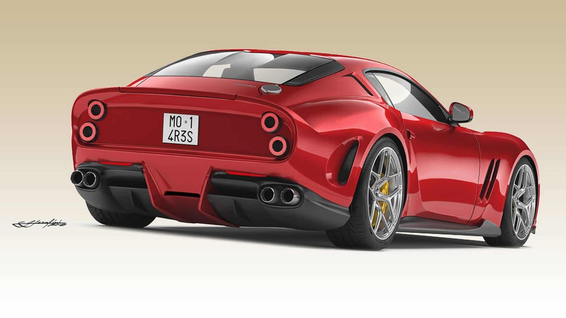 Coachbuilt Ferrari 250 GTO 4
