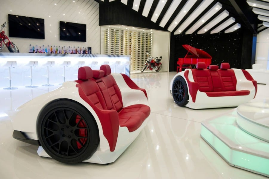 Design Epicentrum Lamborghini sofa
