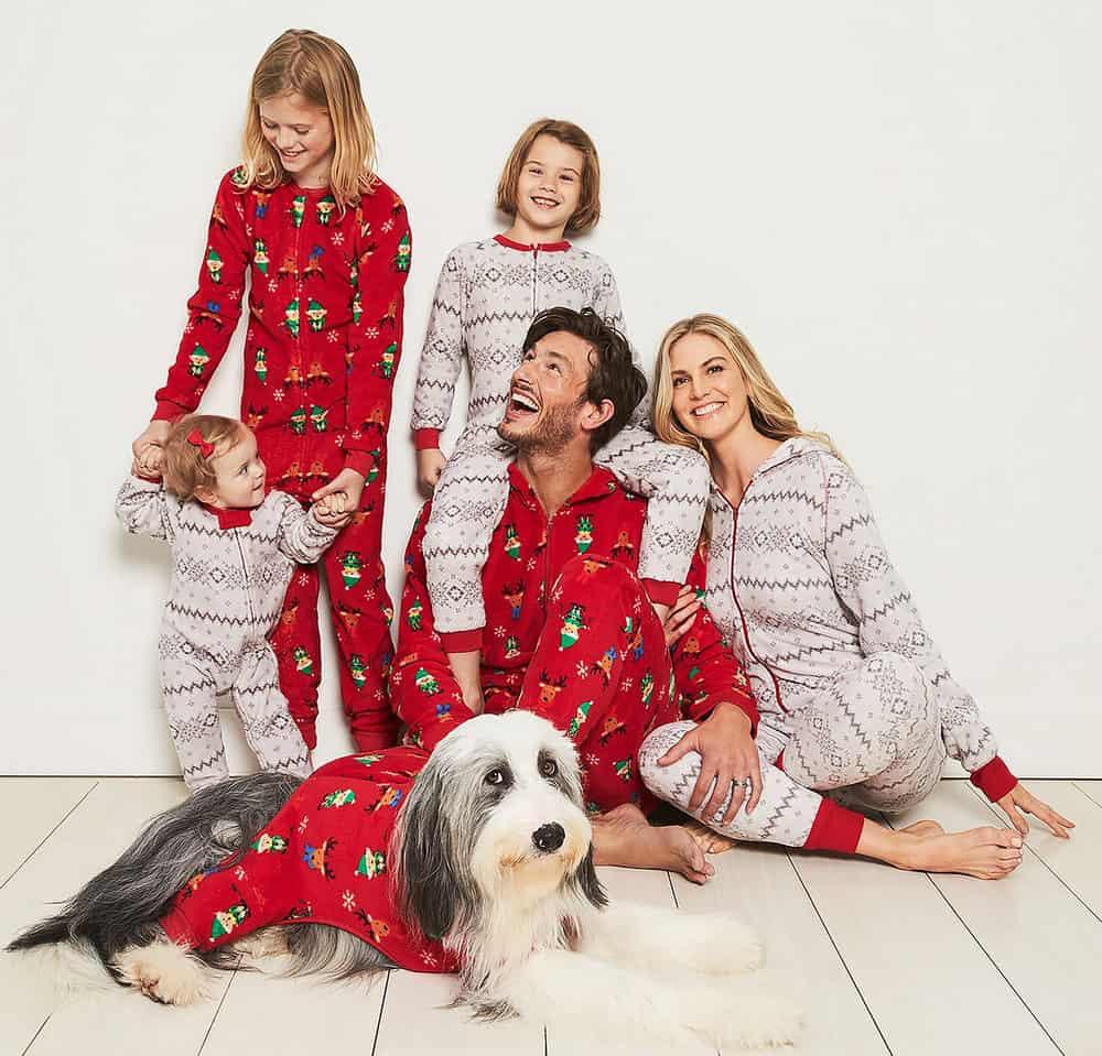 Festive Print pajamas