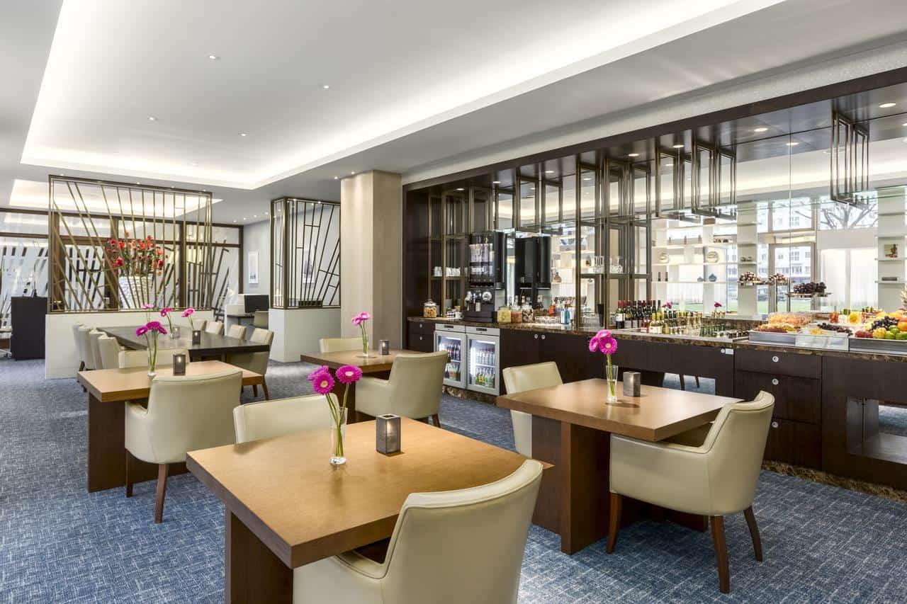 Executive lounge Hilton Rotterdam