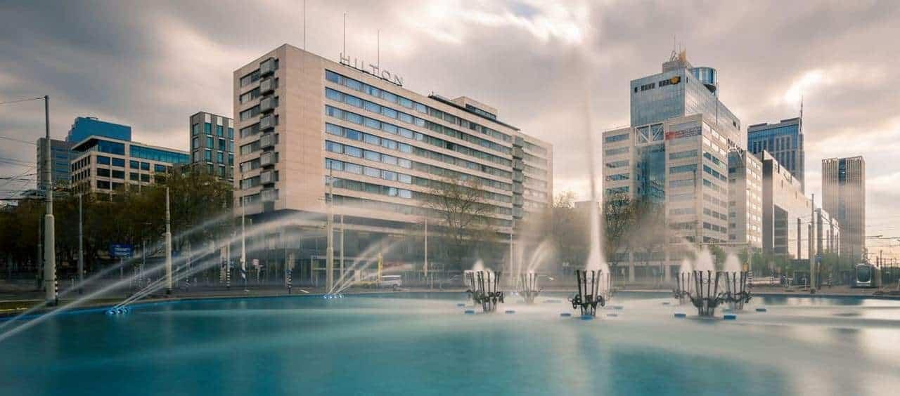 Hilton Rotterdam Exterior