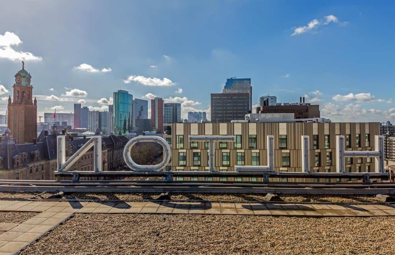 Hilton Rotterdam view