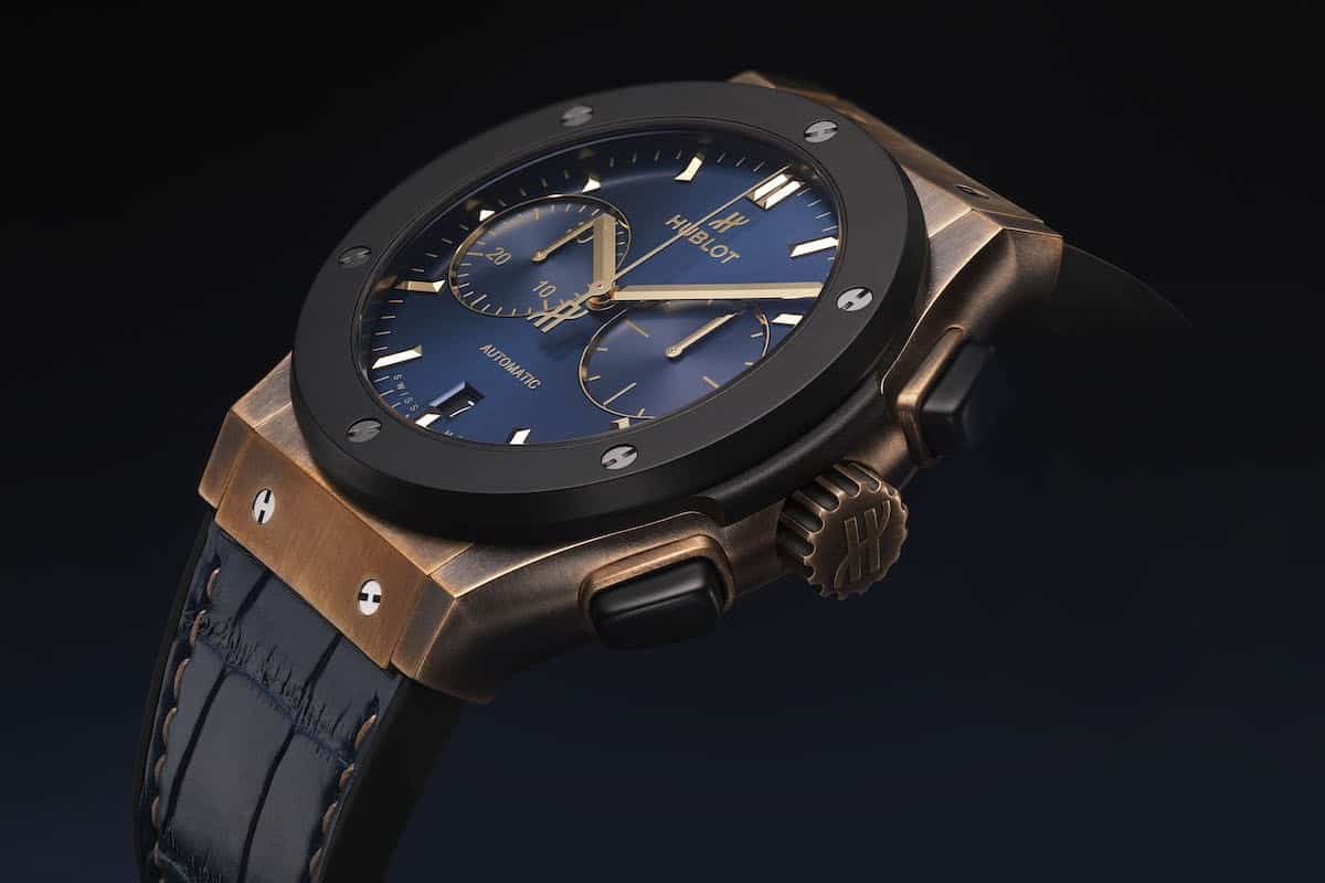 Hublot Classic Fusion Bronze Bucherer Blue Editions 2
