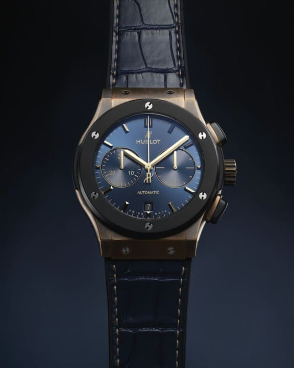 Hublot Classic Fusion Bronze Bucherer Blue Editions 4