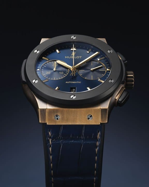Hublot Classic Fusion Bronze Bucherer Blue Editions 5