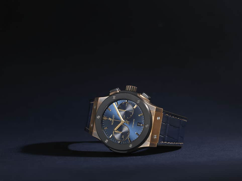 Hublot Classic Fusion Bronze Bucherer Blue Editions 7