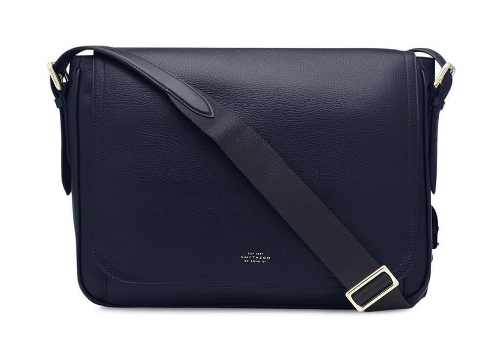 Smythson Burlington Large Messenger Bag