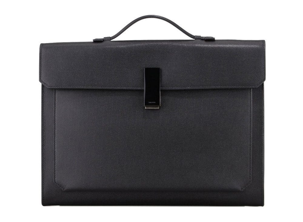 Tom-Ford,-Briefcase-With-Horn-Closure