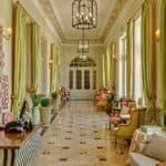 Château Amade lobby