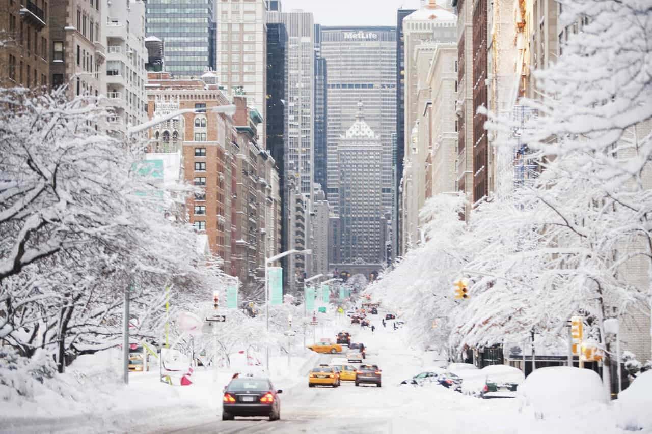 New York City winter