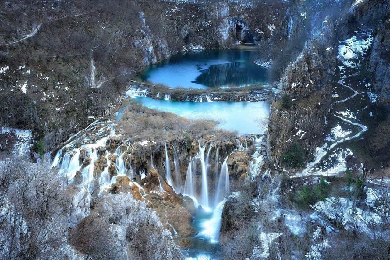 Plitvice winter