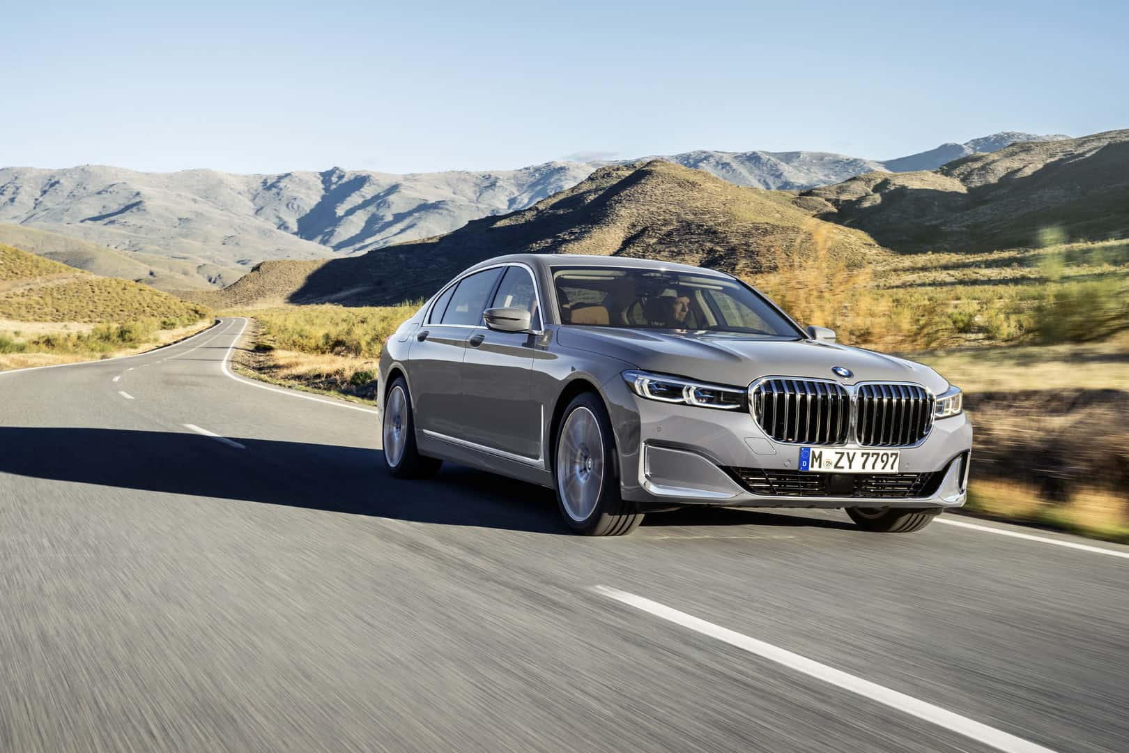 Bmw Has Officially Taken The Wraps Off The New 7 Series Facelift