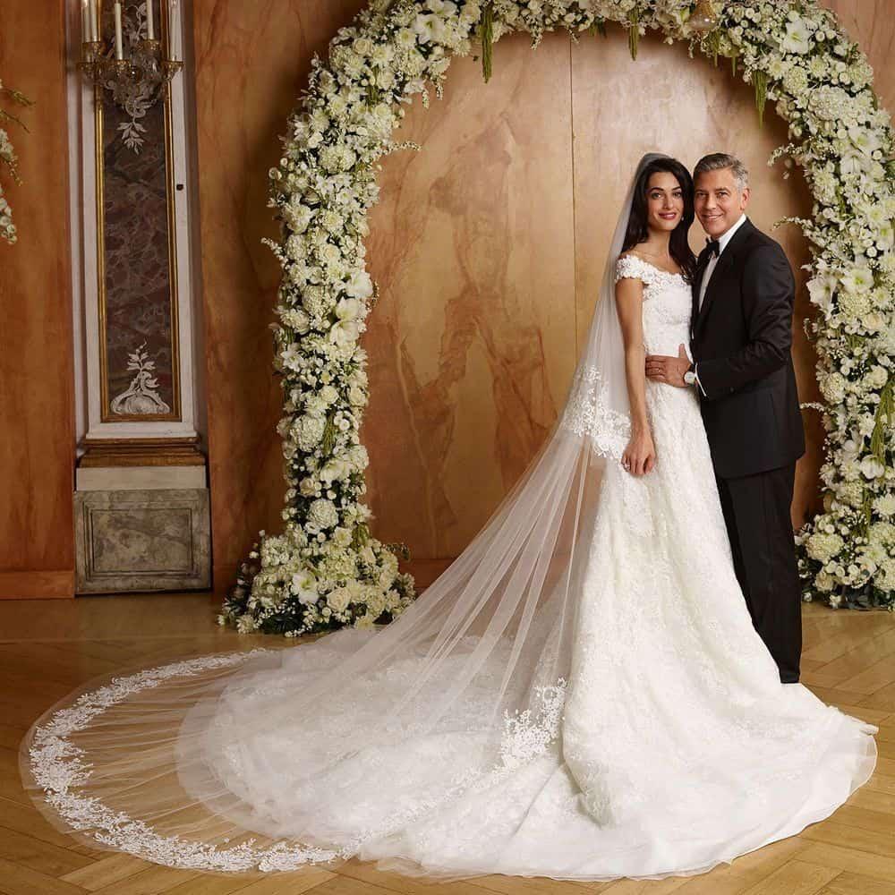 Amal Alamuddin wedding dress
