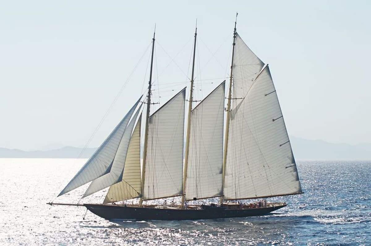 Atlantic sailing yacht