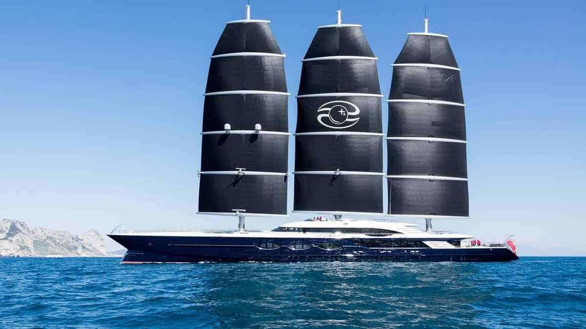 Black Pearl sailing yacht