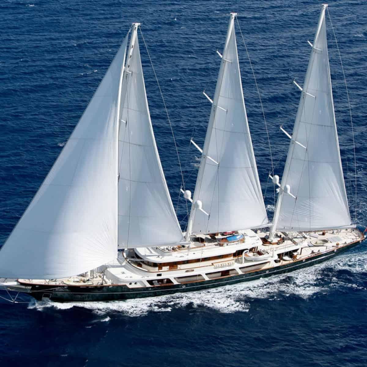 EOS sailing yacht