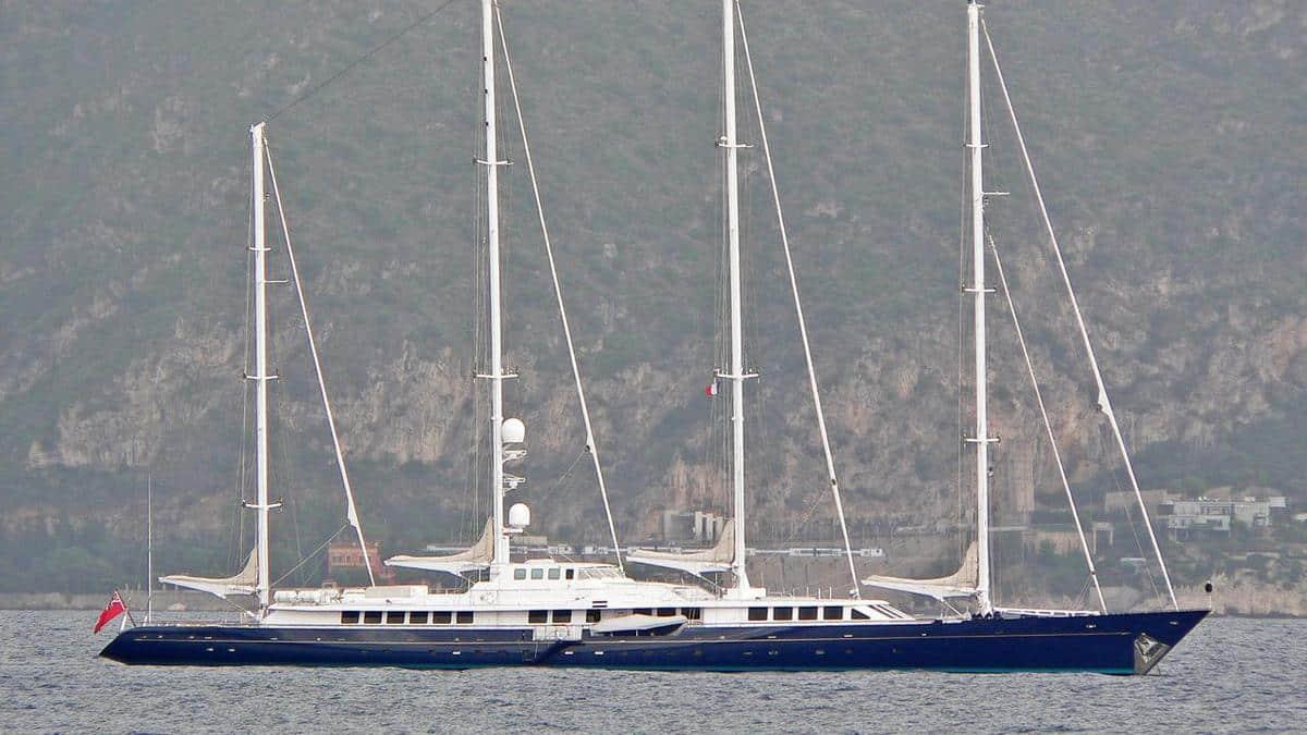 Enigma sailing yacht
