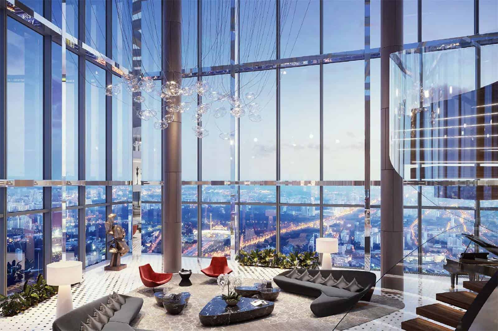 Federation Tower Penthouse 2