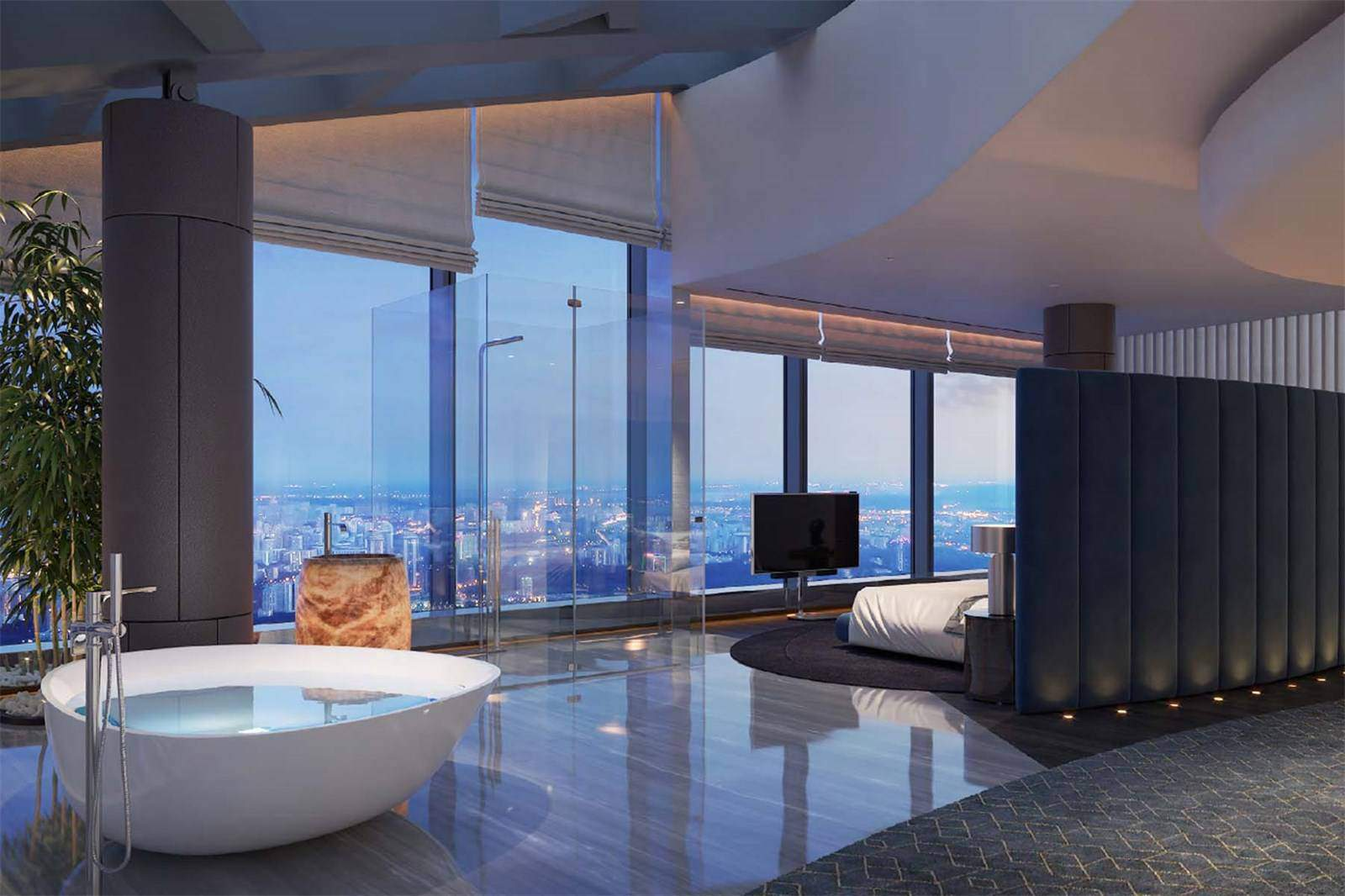 Federation Tower Penthouse 3