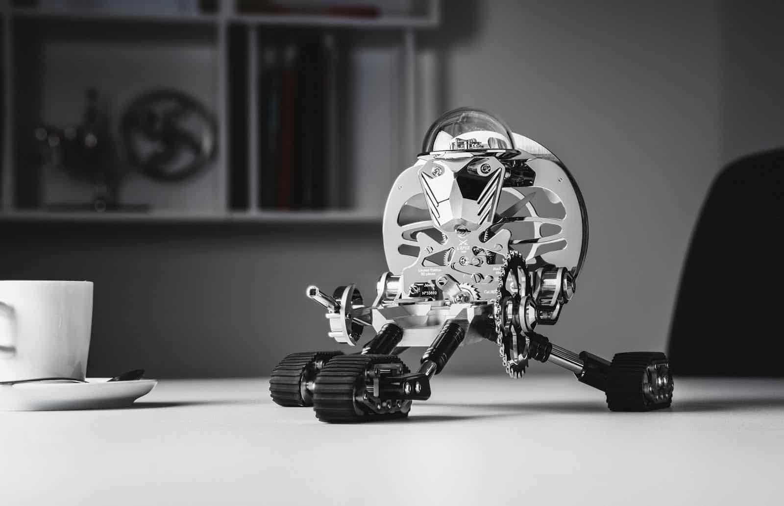 MB&F's new Robot Clock is called Grant
