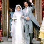 Marie-Chantal Miller wedding dress