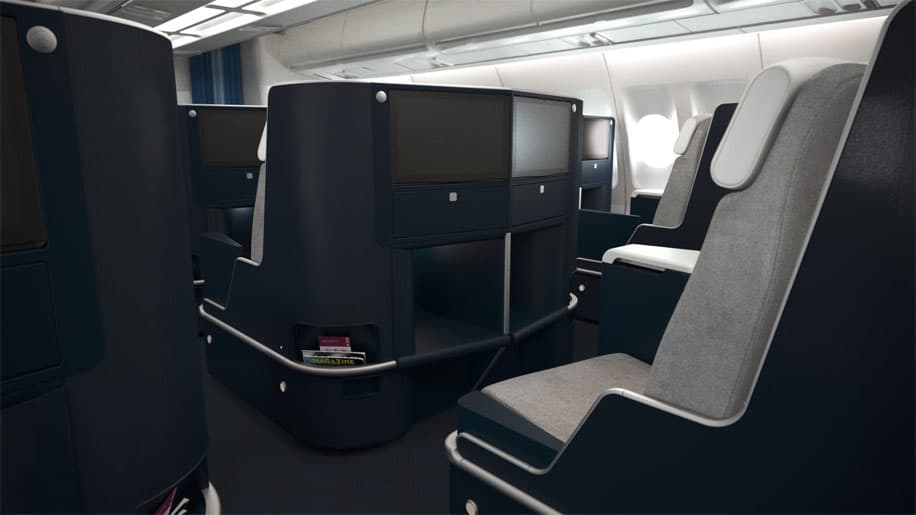 Air France business class