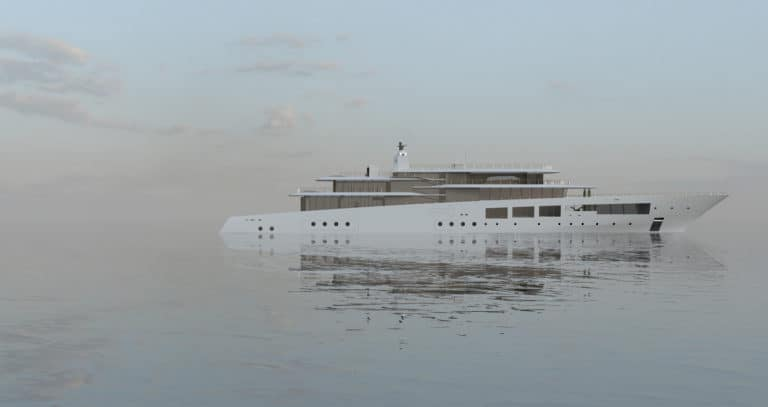 Lavilla is a Blissful Yacht Concept Imaged by Jérémy Kitzinger
