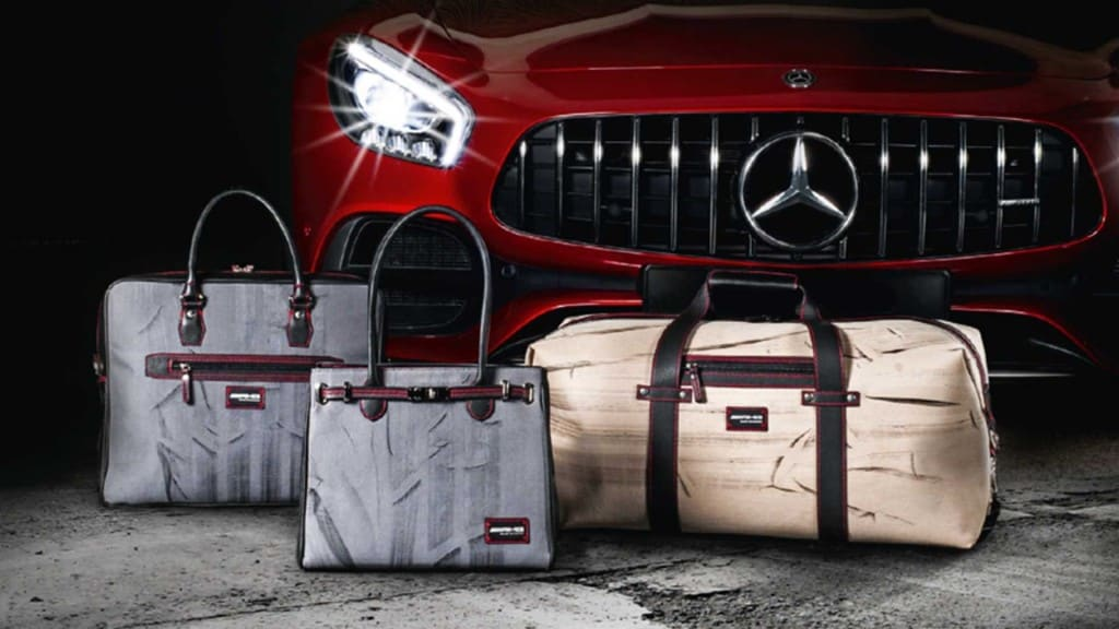 The BurnOut Collection: Luxury Items with Mercedes-AMG GT-R Tyre Markings on Them
