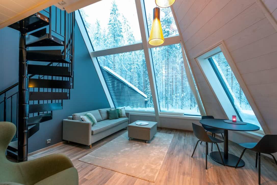Pupazzo di neve-World-vetro-Resort-2