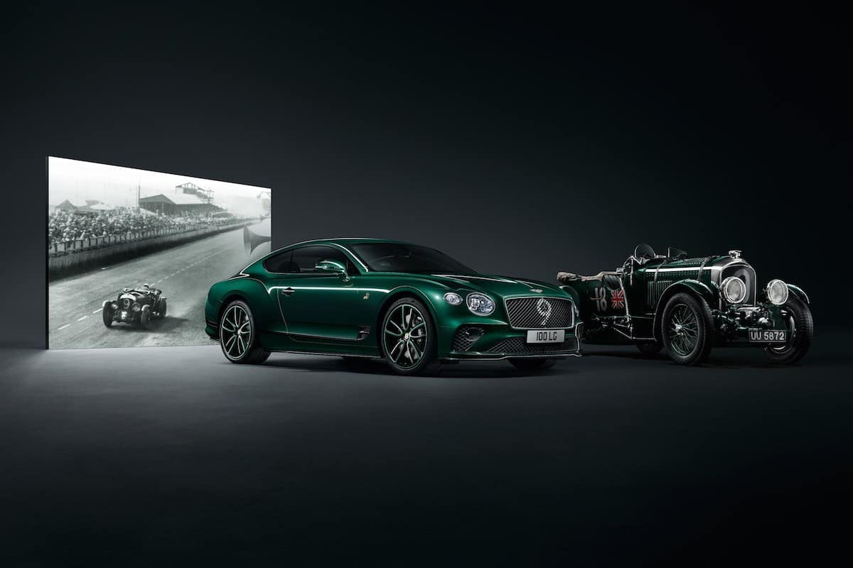 Celebrate 100 Years of Bentley With the Continental GT Number 9 Edition by Mulliner