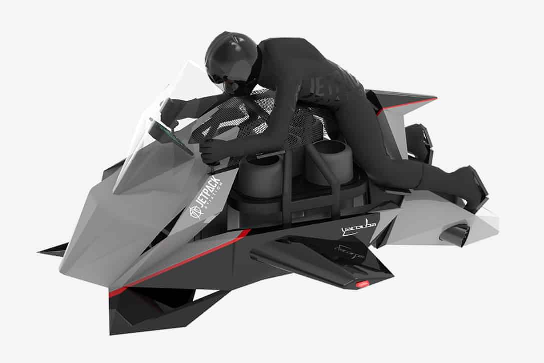 Jetpack Aviation Speeder Flying Motorcycle 1