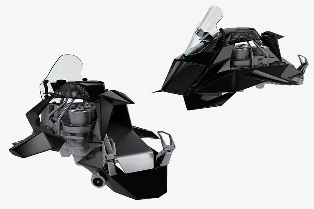 Jetpack Aviation Speeder Flying Motorcycle 2