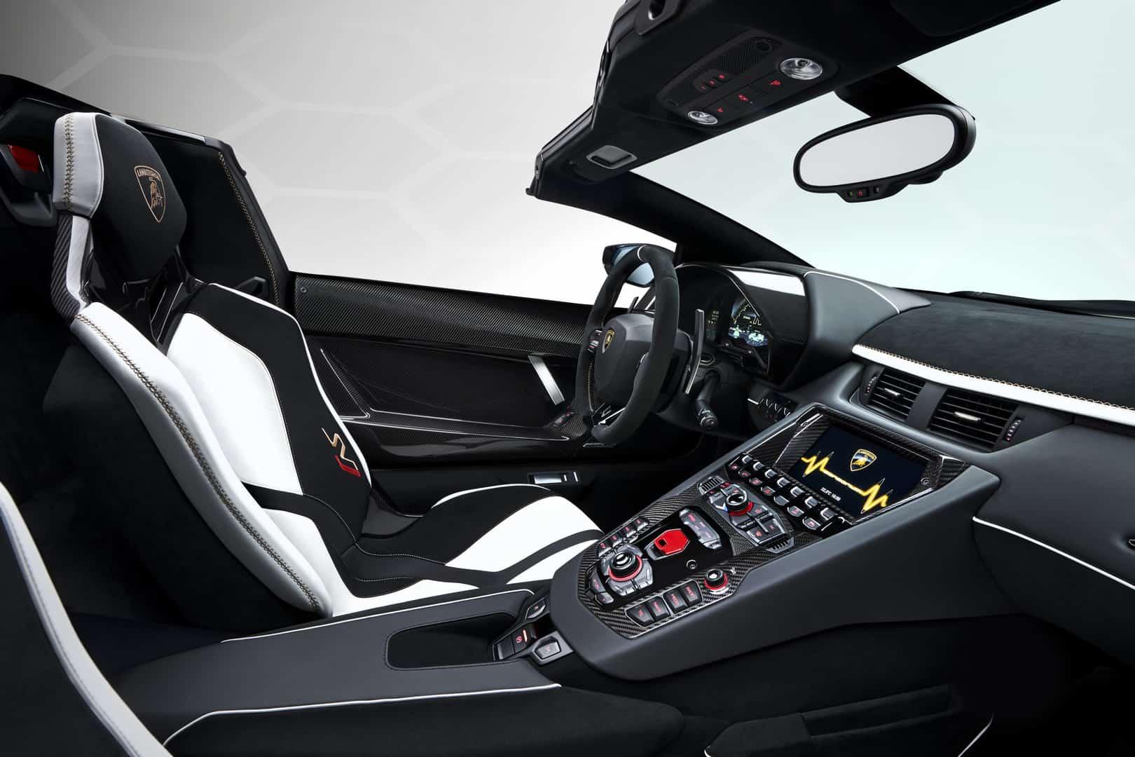 Lamborghini Aventador SVJ Roadster 16