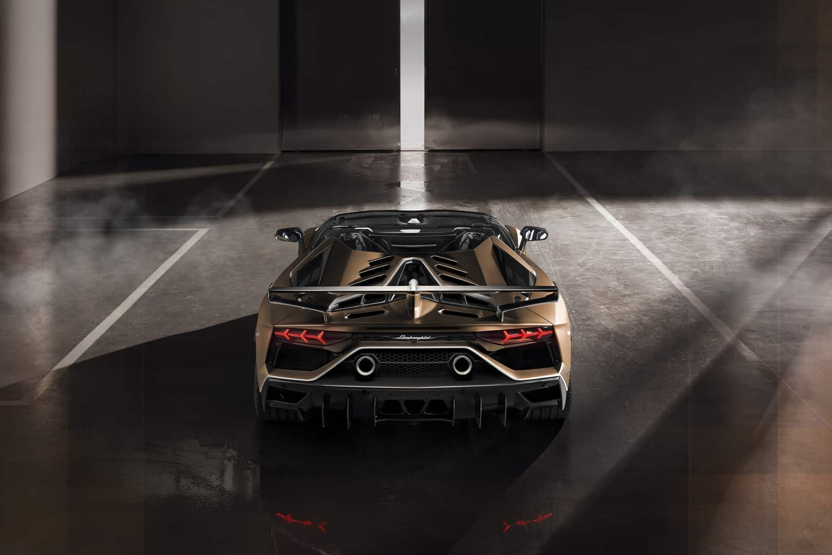 Lamborghini Aventador SVJ Roadster 5