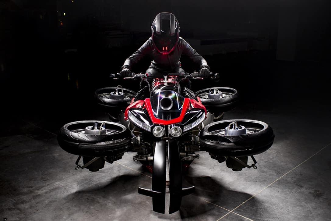 Lazareth La Moto Volante Hoverbike 5