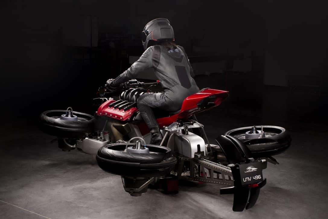 Lazareth La Moto Volante Hoverbike 6