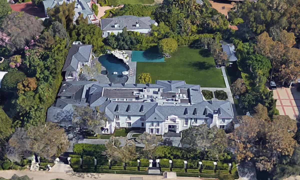P. Diddy house