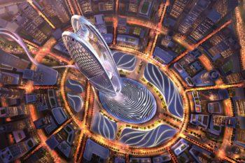 dubai burj jumeira skyscraper 1