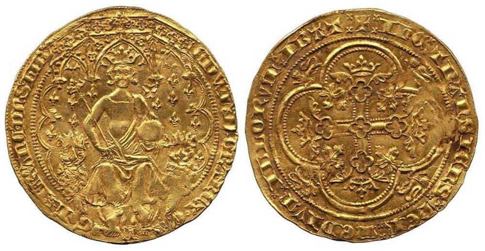 1343 Edward III florin