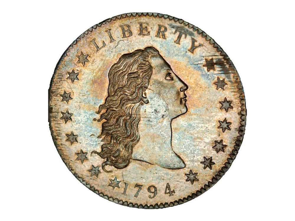 1794-5-Flowing-hair-silver-copper-dollar