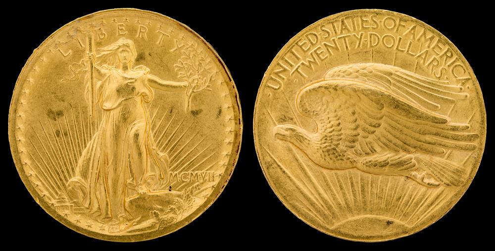 1907 Saint-Gaudens double eagle