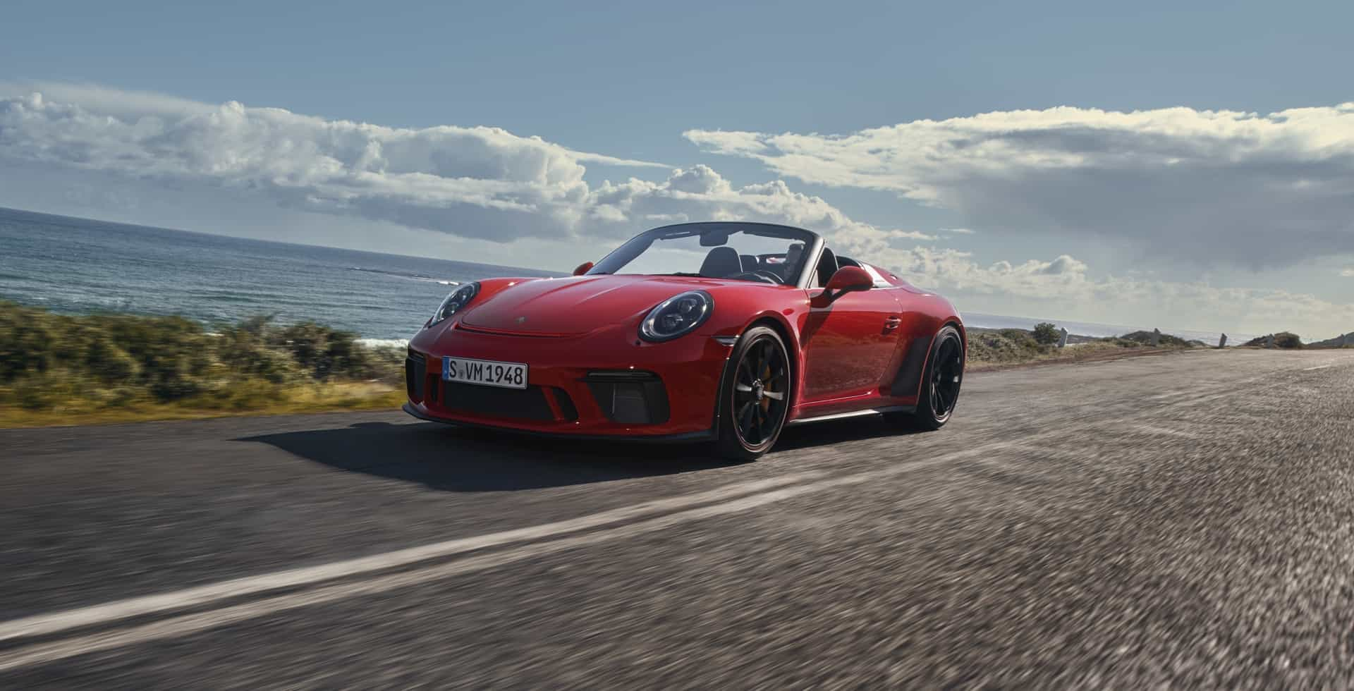 The 2019 Porsche 911 Speedster is Here to Make Your Day