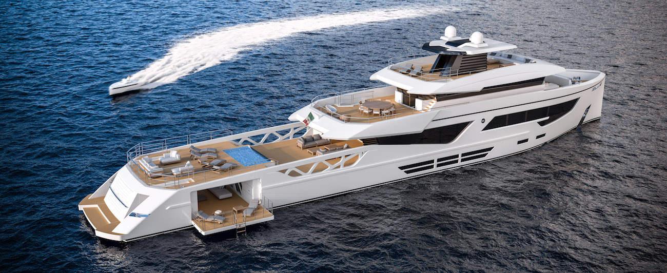 Rosetti Superyachts' 52-meter Supply Vessel Looks Absolutely Stunning