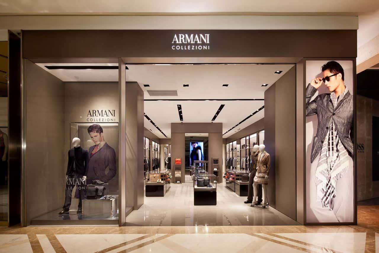 Armani store