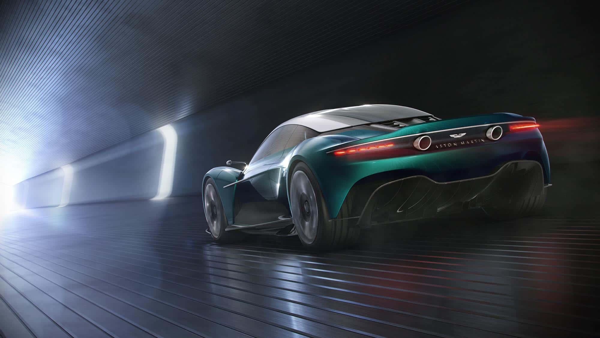 Aston Martin Vanquish Vision Concept 8