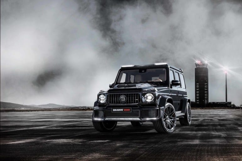 The Brand New BRABUS 800 WIDESTAR is Here to Make Some Noise