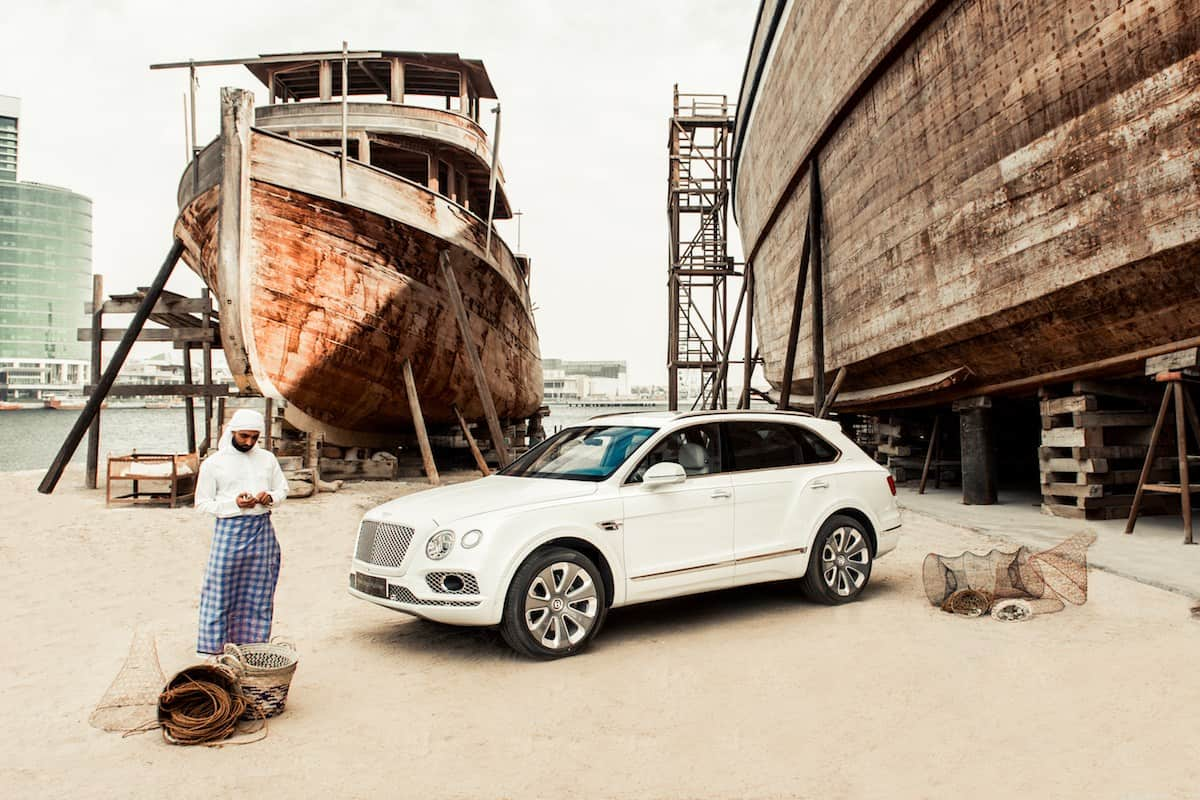Here Comes the Astonishing Bentayga Mulliner Pearl of the Gulf
