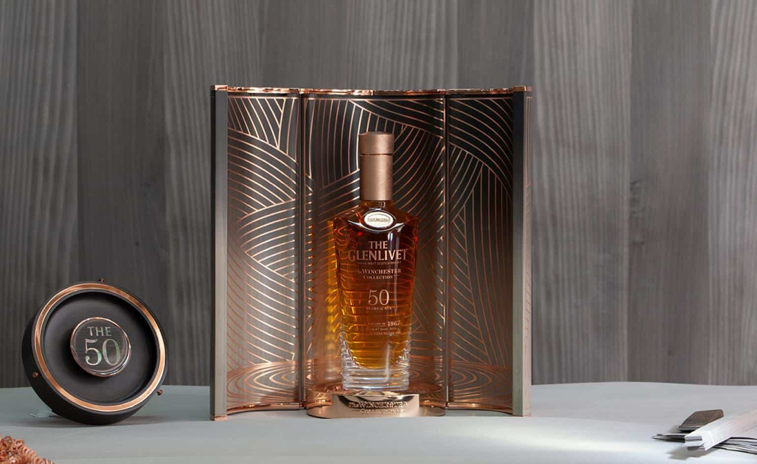 The New Glenlivet and Bethan Gray Limited Edition 50 Year Old Whiskey Collection