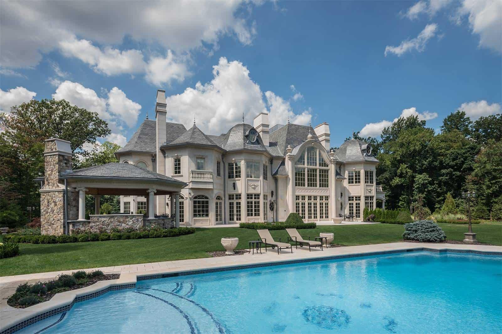 Chateau de la Roche is a $25 Million Dream in Alpine, New Jersey